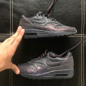 Nike Air Max 1 lux logo prints casual shoes